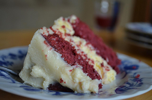 Recipe for Red Velvet Cheesecake